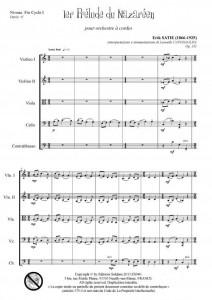1er prélude du Nazaréen (orchestre à cordes)