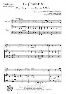 Les hymnes européens (clarinette et piano)