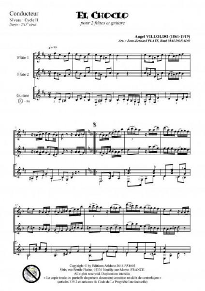 El Choclo (2 flûtes et guitare)