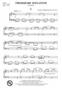 Troisième sonatine (piano)