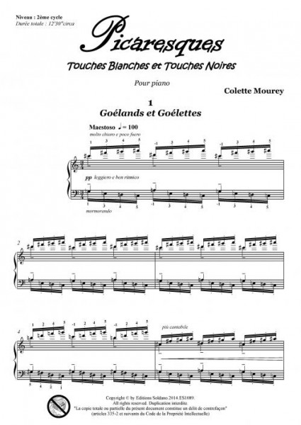 Picaresques (piano)