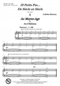 20 petits pas...De siècle en siècle (piano)