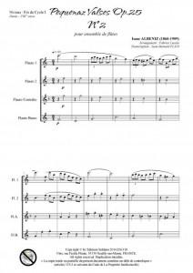 Pequenaz valse n°2 (ensemble de flûtes)