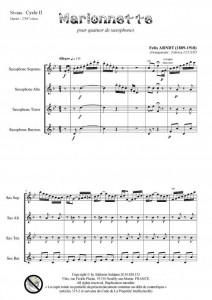 Marionnette (quatuor de saxophones)