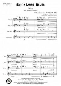Saint Louis Blues (ensemble de flûtes)