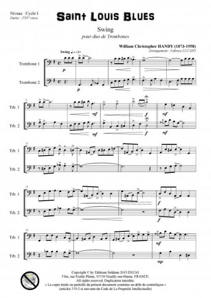 Saint Louis Blues (duo de trombones)