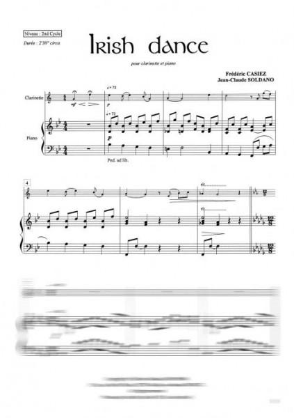 Irish dance (clarinette et piano)