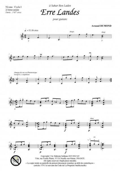 Erre landes (guitare)