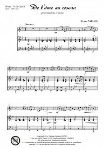De l-âme au roseau (pour hautbois et piano)