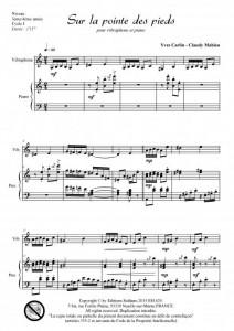 Sur la pointe des pieds (vibraphone et piano)