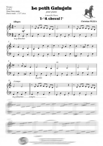 Le petit Guinguin (piano)