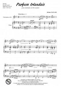 Parfum irlandais (clarinette et piano)