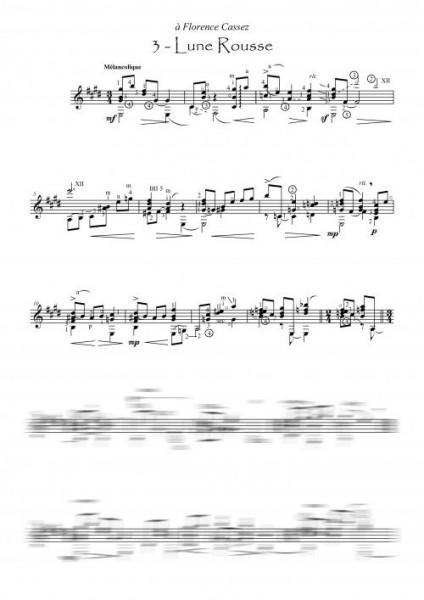 3 estampes (guitare)