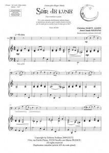 Soir de lune (trombone/piano)