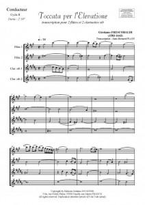 Toccata per l'Elevatione (2 flûtes et 2 clarinettes)