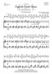 Espirito Santo Bossa (batterie et piano)