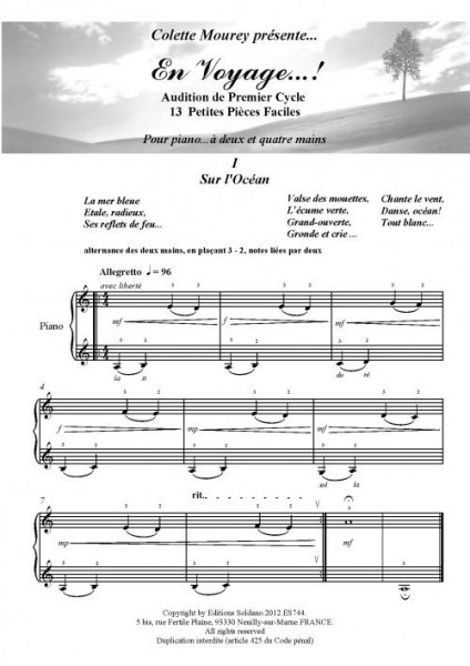En voyage...! (piano 2 et 4 mains)