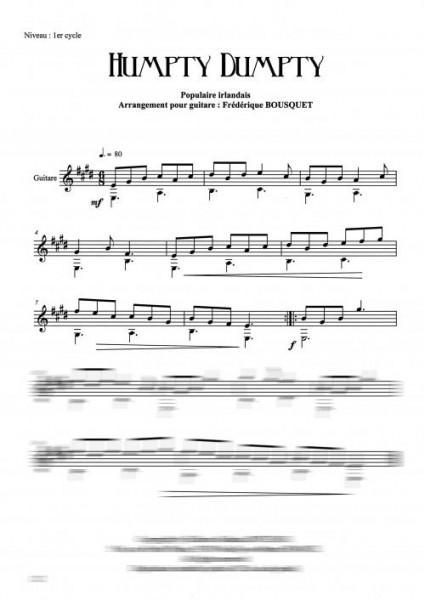 11 pièces populaires d'Irlande et du Pays de Galles (guitare)