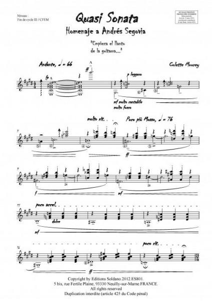Quasi Sonata (guitare)