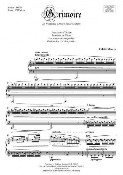 Grimoire (piano)