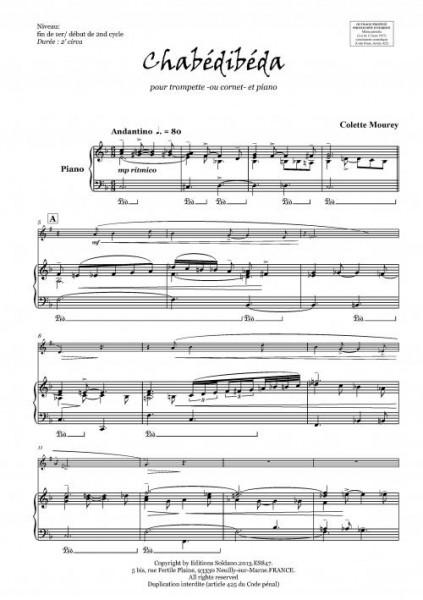 Chabédibéda (trompette et piano)