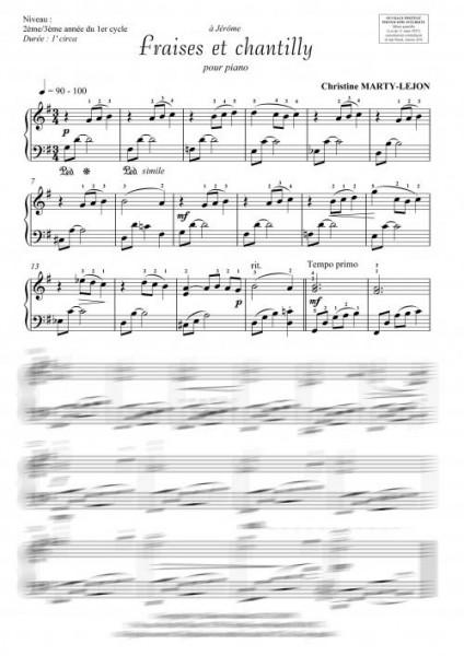 Les friandises VOLUME 2 (piano)