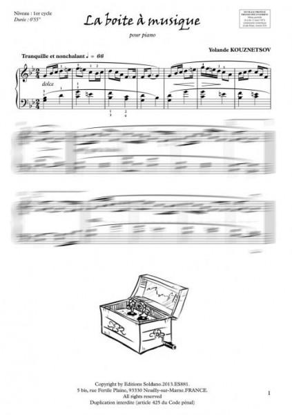 La boite à musique (piano)