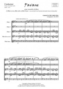 Pavane (ensemble de flûtes)