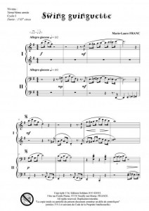 Swing garden party (piano 4 mains)