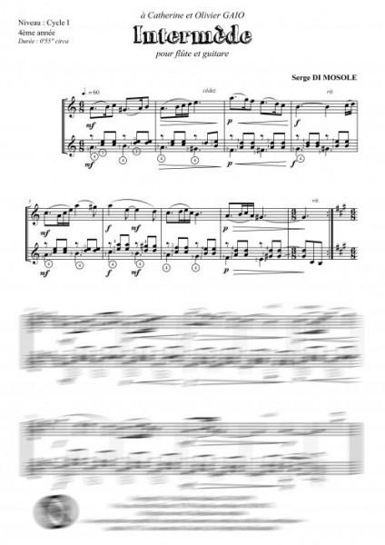 Interludes (flûte et guitare)