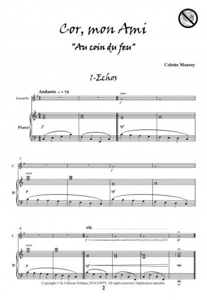 Cor, mon Ami (cor en fa et piano)