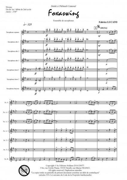 Foxaswing (ensemble de saxophones)