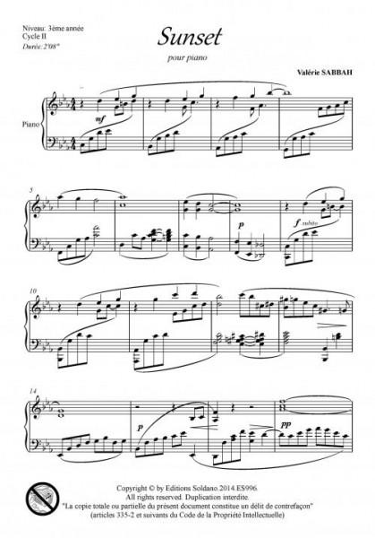 Sunset (piano)