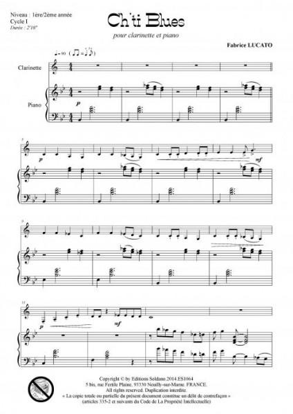 Ch-ti blues (clarinette et piano)