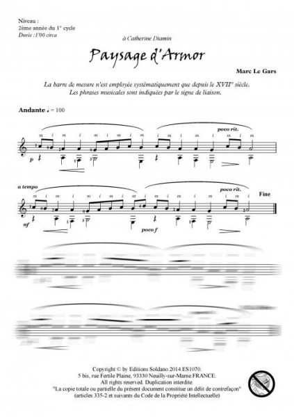 Notes de voyages VOLUME 1 - Ici et Là (guitare)
