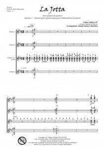 La Jotta (quatuor de guitares)