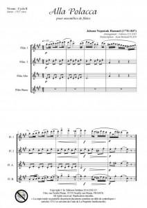 Alla Polacca (ensemble de flûtes)