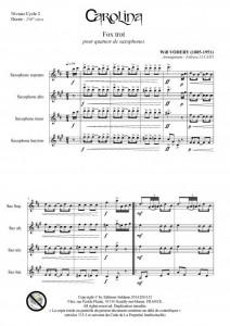 Carolina (quatuor de saxophones)