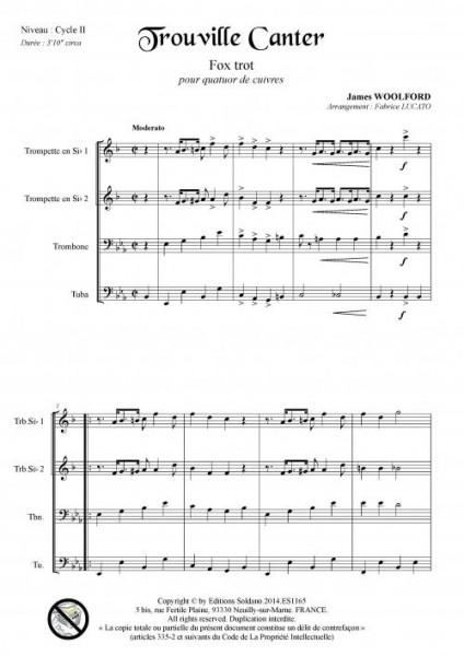 Trouville Canter (quatuor de cuivres)