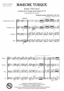 Marche Turque (quatuor de cuivres)