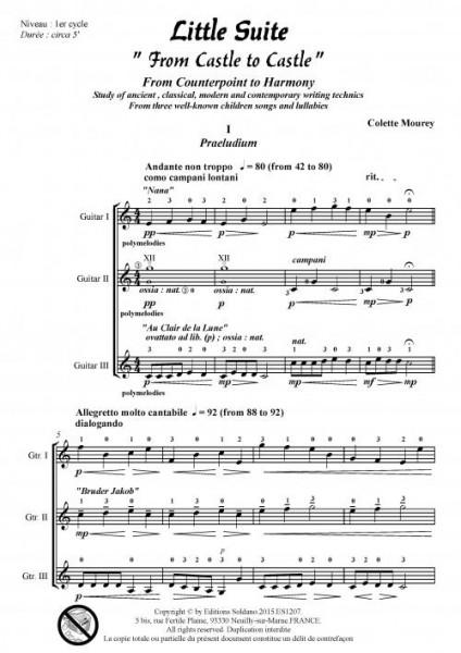 Little Suite (trio de guitares)