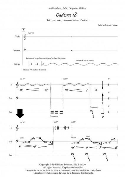Cadence 18 (basson, voix et bateau d-aviron)
