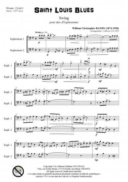 Saint Louis Blues (duo d-euphoniums)