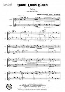 Saint Louis Blues (duo de flûtes)