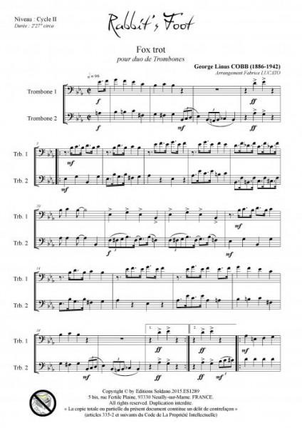 Rabbit-s foot (duo de trombones)