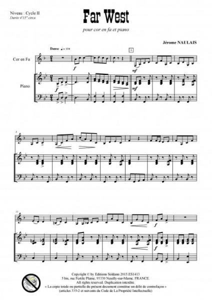 Far West (cor en fa et piano)
