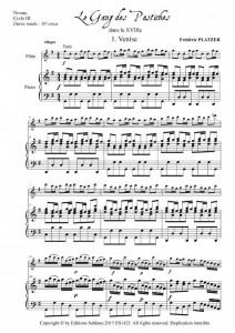 Le gang des pastiches (flûte et piano)