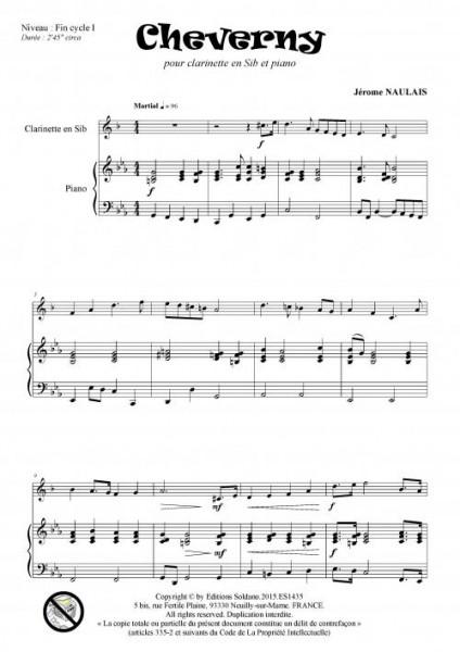 Cheverny (clarinette sib et piano)