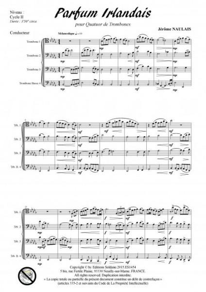Parfum irlandais (quatuor de trombones)