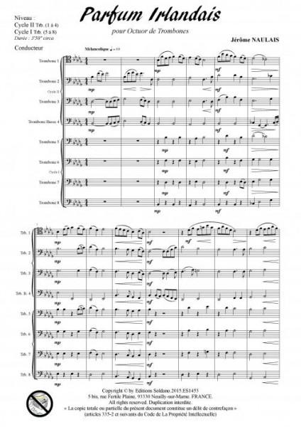 Parfum irlandais (octuor de trombones)